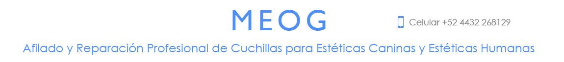 MEOG, Afilado de Navajas y Cuchillas en Morelia